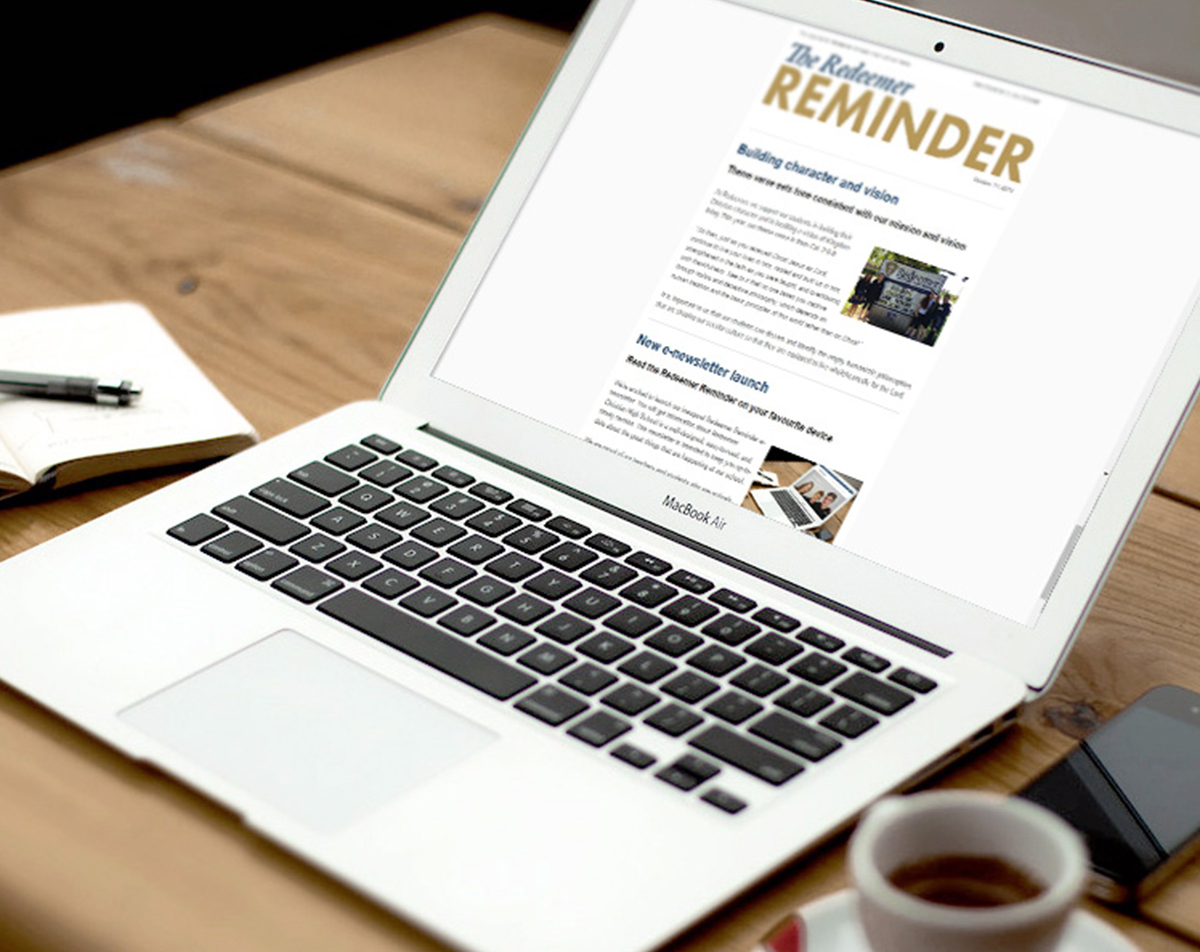 Redeemer Reminder Newsletter
